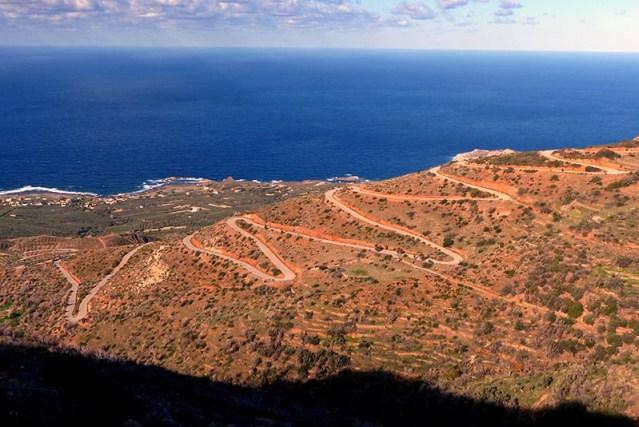 Crete coast - Jen Funk Weber