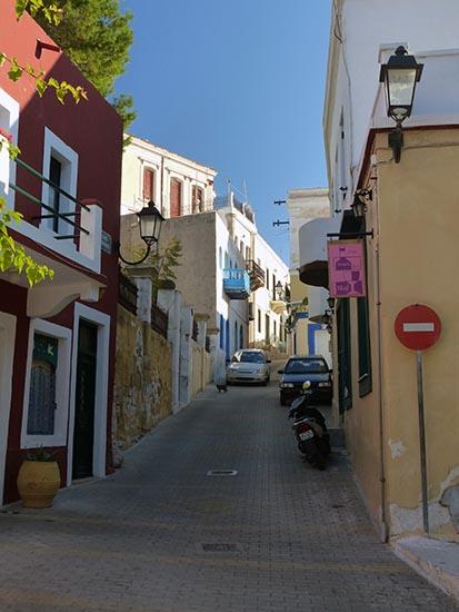 Narrow roads, driving in Greece - Jen Funk Weber