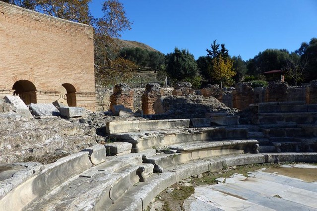 Roman Amphitheater, Gortys, Crete, Greece - Jen Funk Weber