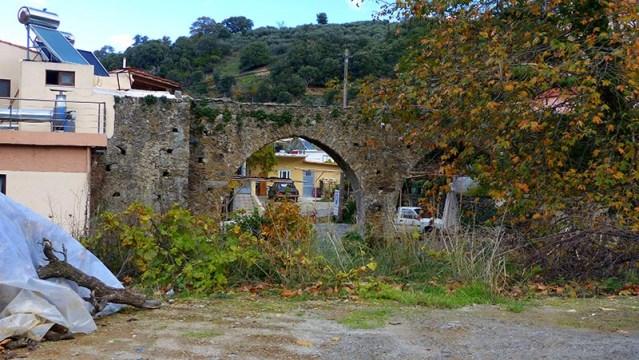 Turkish aqueduct at Elos, Crete - Jen Funk Weber