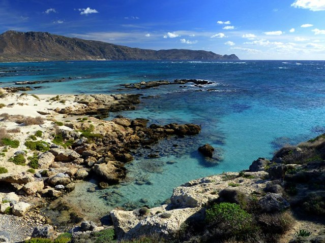 Turquoise water at Elafonisi, Crete - Jen Funk Weber