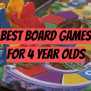 Top 5 Best Board Games For 5 Year Olds 2019 Review