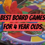 Top 5 Best Board Games For 4 Year Olds 2020 Review