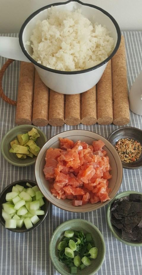 Bowl de sushi