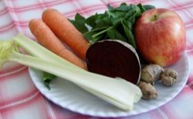 Jugo verdura