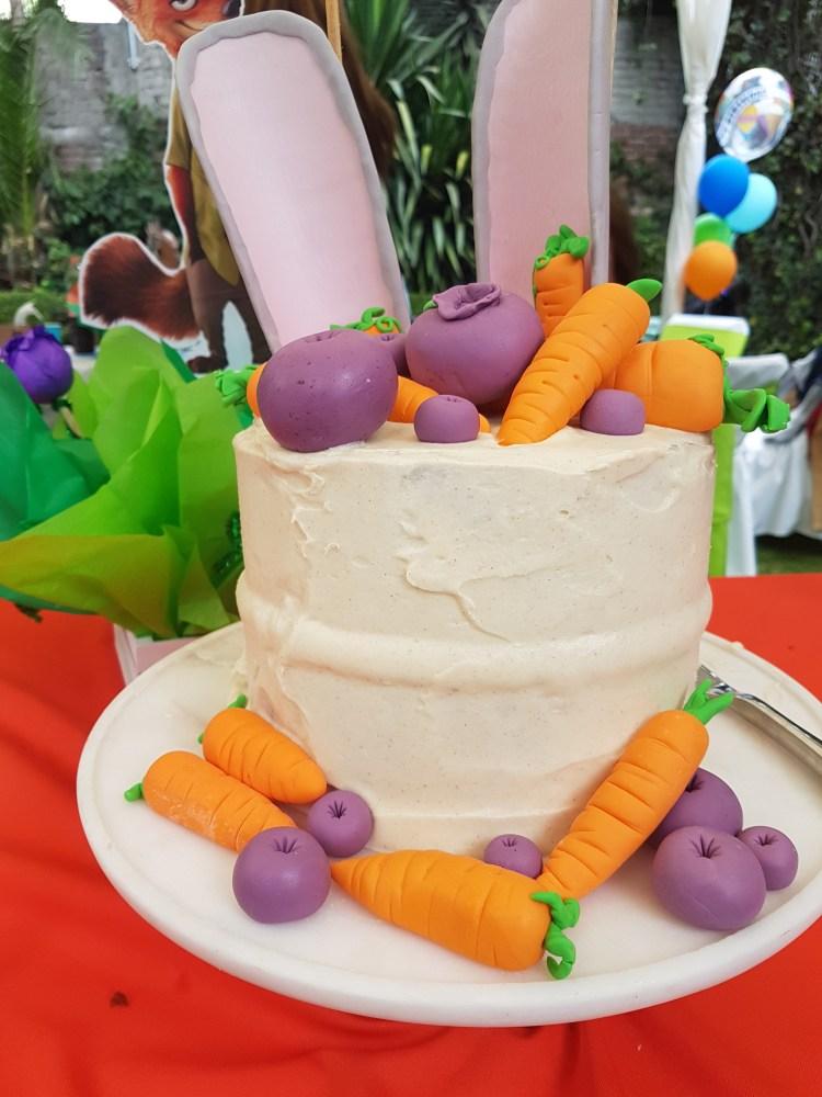 Pastel de zanahoria especiado