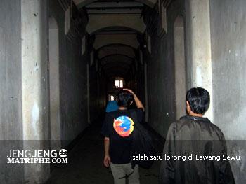 salah satu lorong di Lawang Sewu