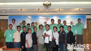 Foto Bersama rekan-rekan DEPKOMINFO