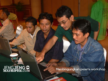 Membingungkan peserta workshop