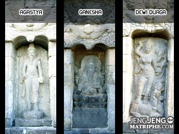 Agastya - Ganesha - Dewi Durga