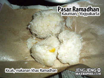 Kricak, makanan khas Ramadhan