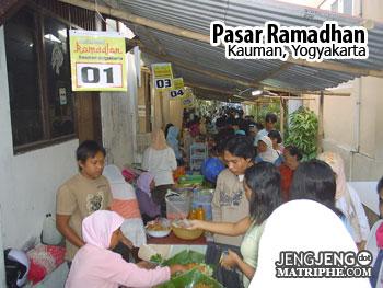 Pasar Sore Ramadhan Kauman
