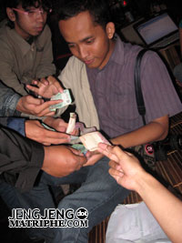 Bantingan duit
