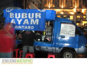 Mobil toko Bubur Ayam Bintaro