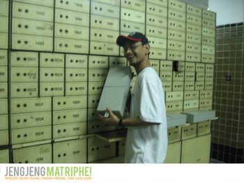 Ruang Safe Deposit Box