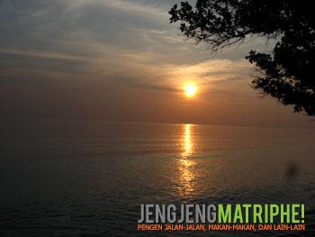 Sunset Pulau Tidung