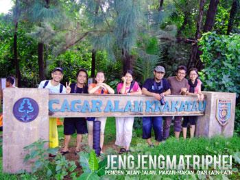 Gerbang Taman Nasional Cagar Alam Krakatau