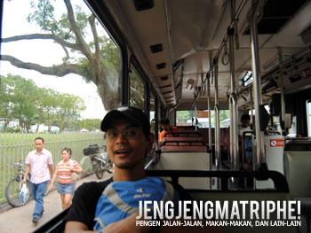 Suasana di dalam bus