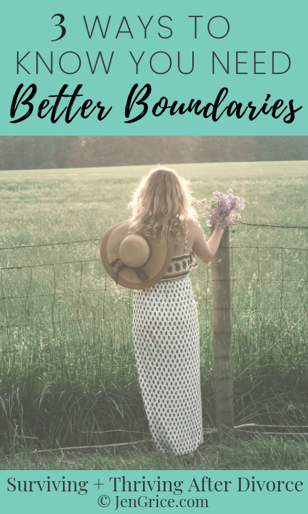 Anger, frustration, and resentment are signs that you don't have great boundaries. So I'm giving you 3 ways to know if you need better boundaries.