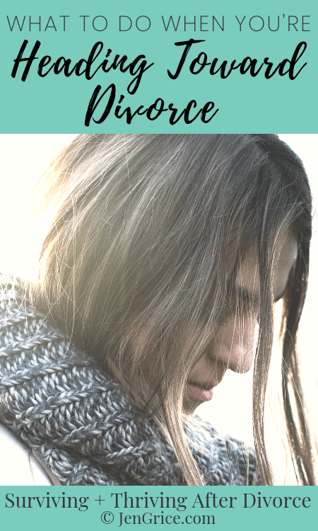 This can be a scary, messy time. All the feelings and emotions want to paralyze you with fear. So I'm sharing what to do when you're headed toward divorce. Be prepared and protect yourself for now and in the future with these tips.