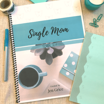 Single Mom Tool Kit (Printable Pack) | By Jen Grice