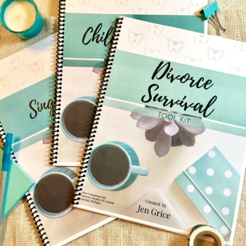 Complete Divorced Mom's Digital Tool Kit (Printable Bundle) | By Jen Grice