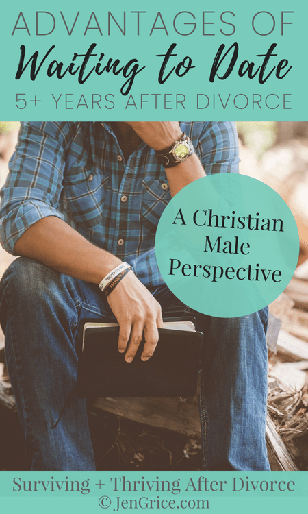 Pastor Curtis shares his perspective on healing before dating again. What are the advantages to waiting to date 5+ years after divorce? Love this wisdom! via @msjengrice