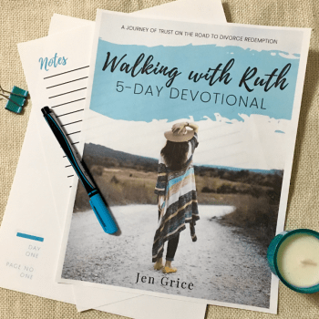 Walking with Ruth 5-Day Devotional | By Jen Grice