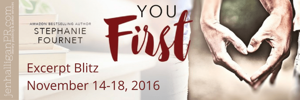 YOU FIRST by Stephanie Fournet | JenHalliganPR.com