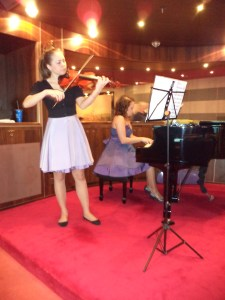 Ship Violinist