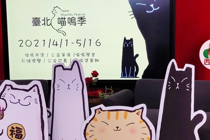 【2021臺北喵嗚季】全臺首創唯一最大的貓主題市集就在龍山文創基地的喵嗚市集,一起來爽當貓奴吧!