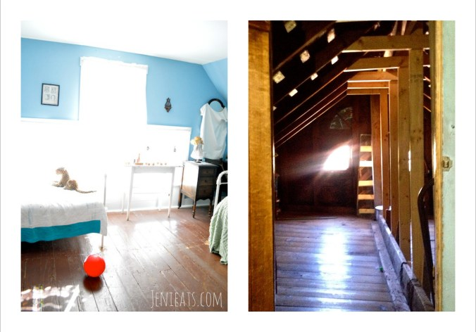 Upstairs Collage
