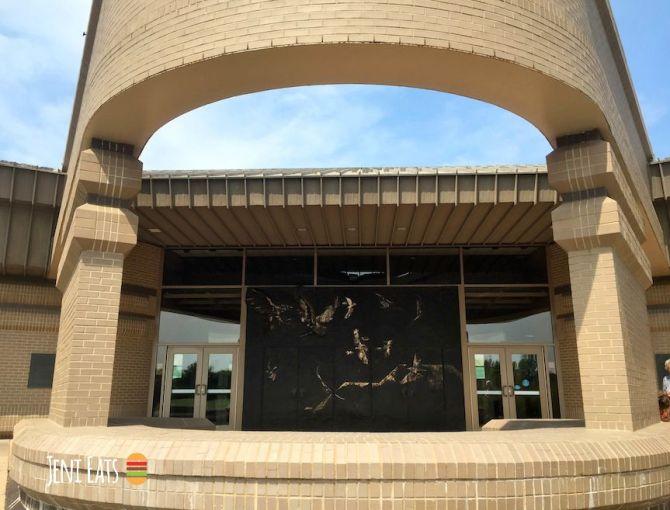 Visitor's center outside