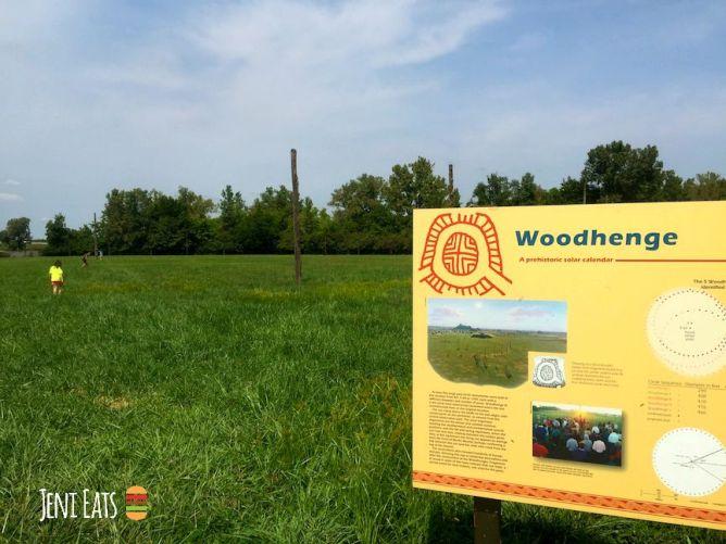 woodhenge sign