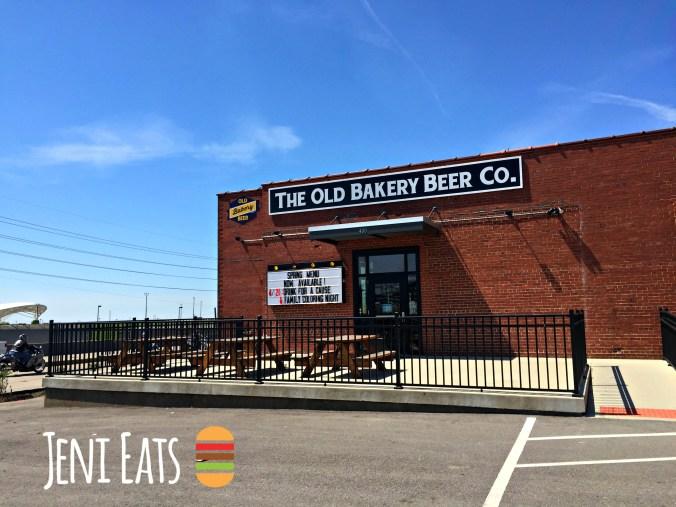 old bakery beer outside