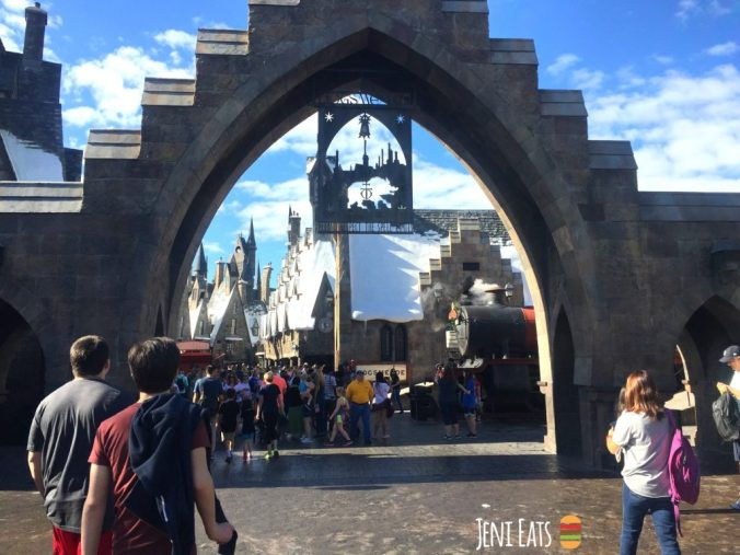 harry potter world entrance