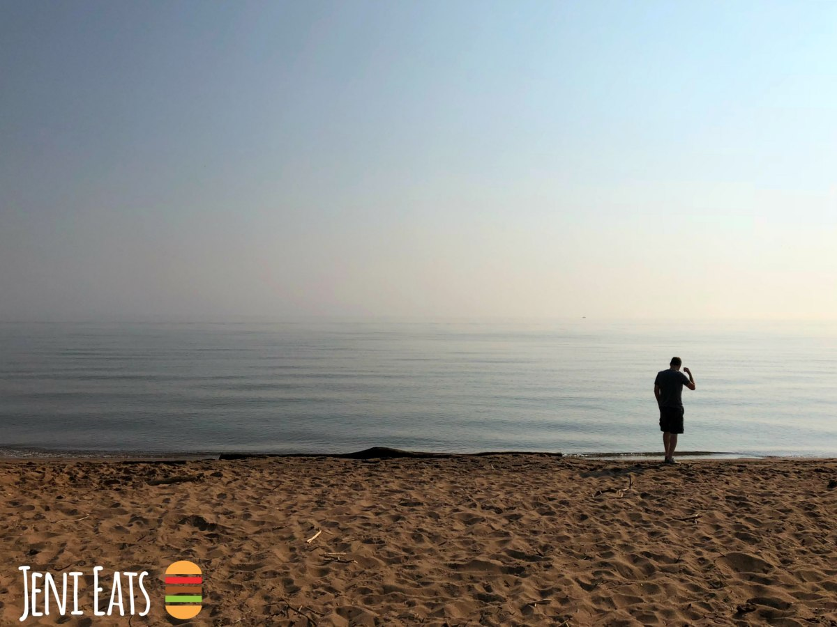 Breakfast & The Longest Sand Bar: Duluth, Minnesota