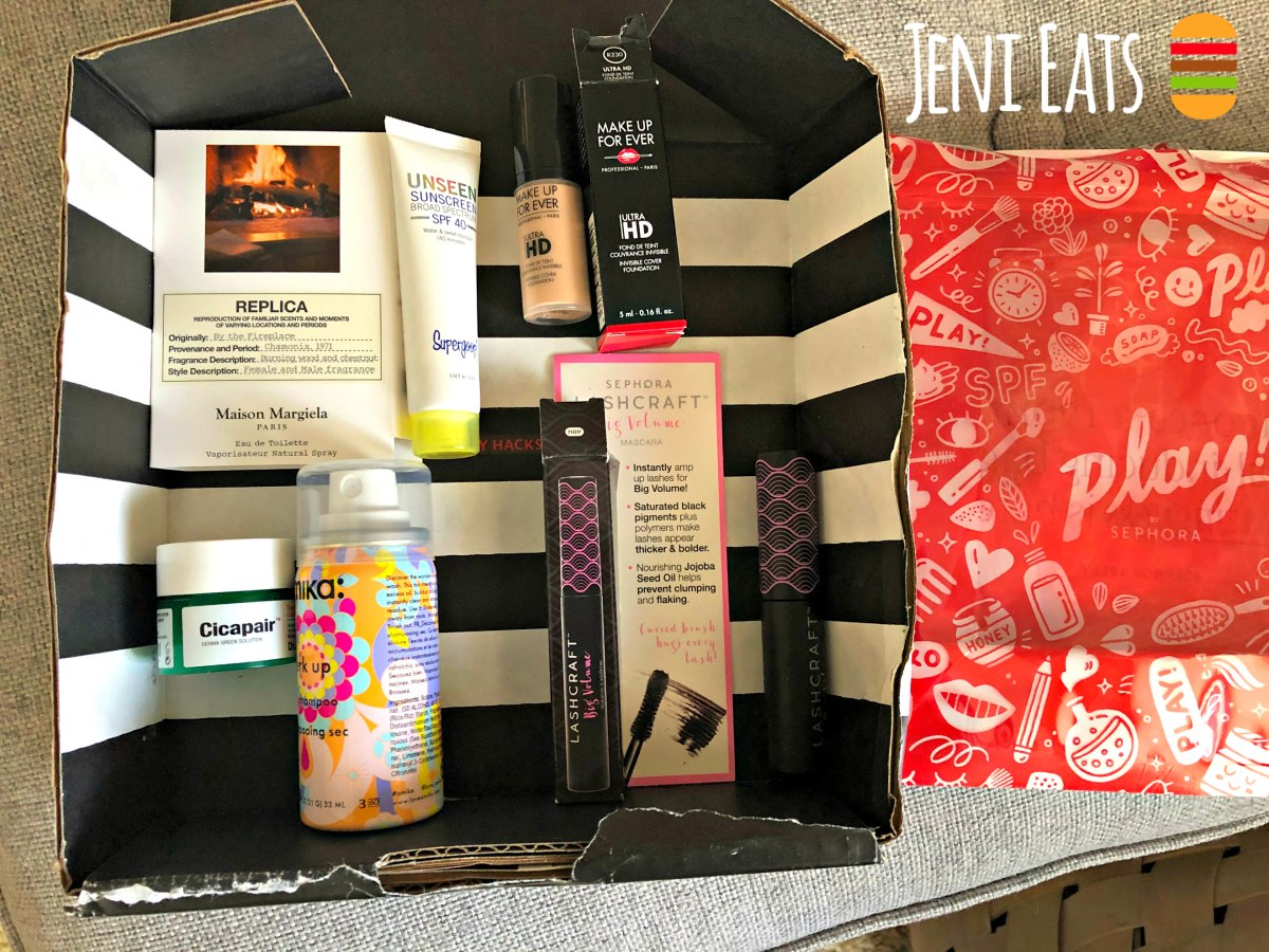 Sephora Play! March 2019 Review: Practical Stuff