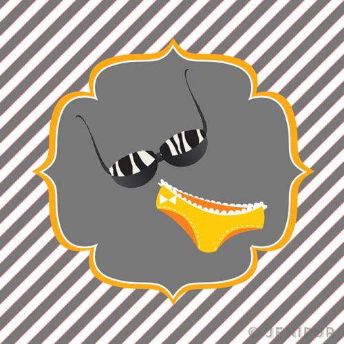 Cupcake topper design 2