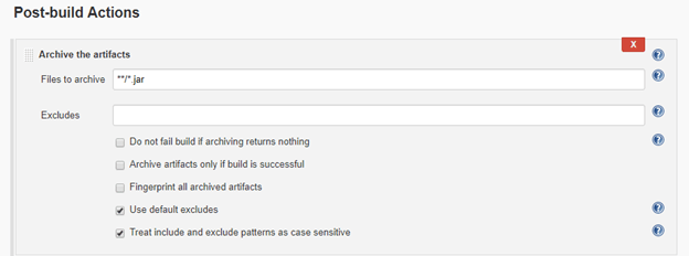 4.post build actions