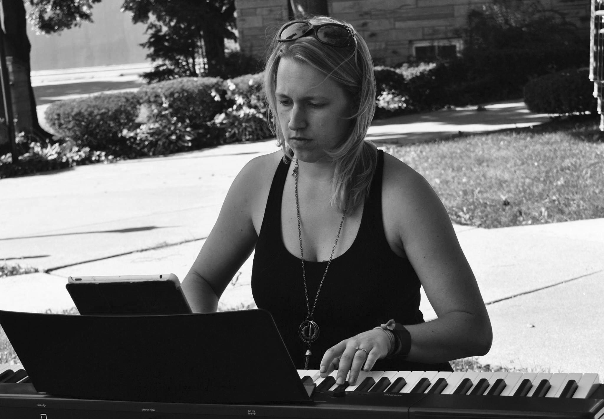 Sarah Playing.Action shot copy