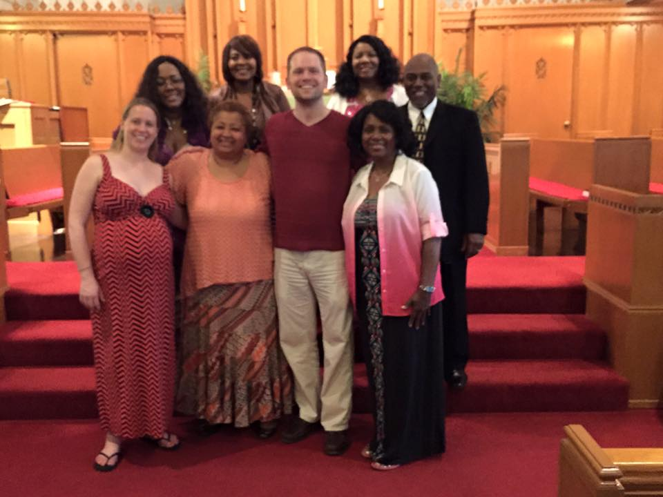 With friends after the Immanuel Presents: Gospel concert