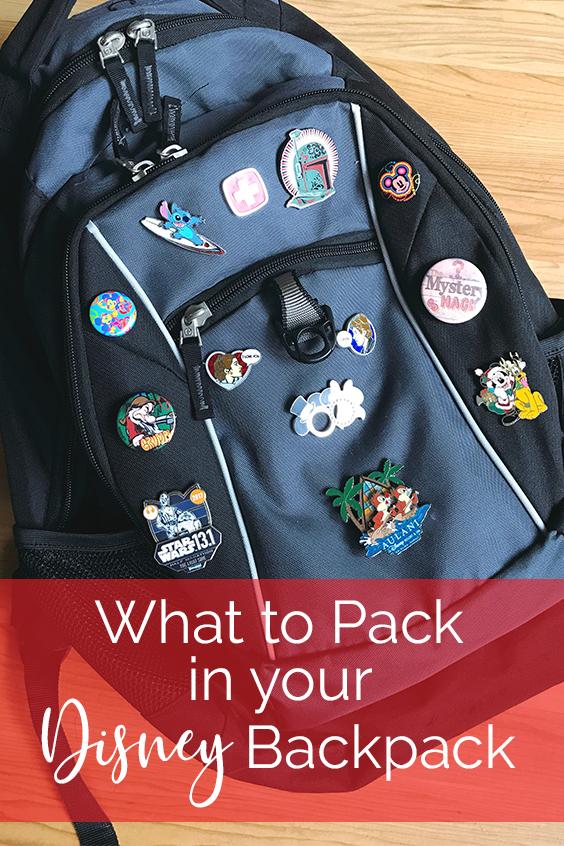 Lawrence Made Disney Backpack
