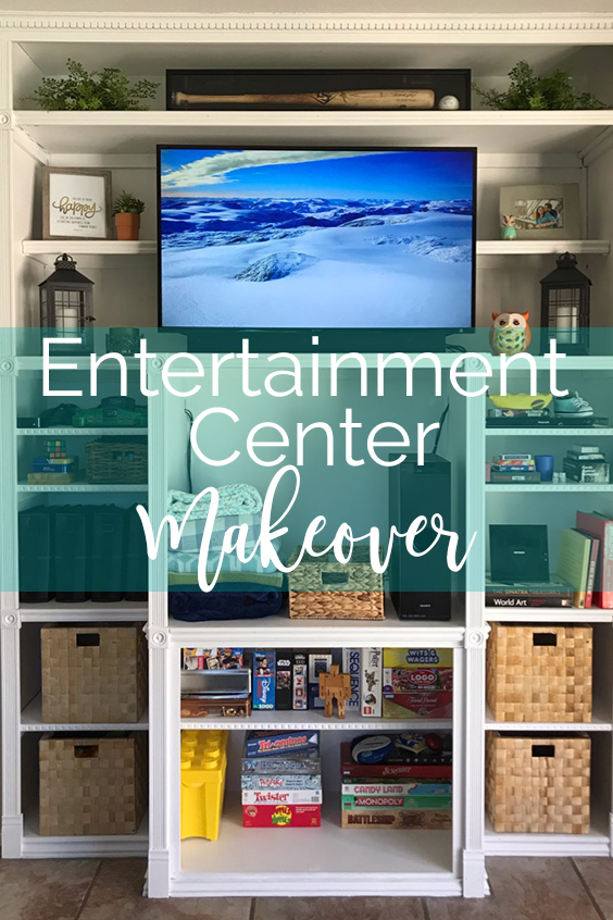 Lawrence Made Entertainment Center Makeover