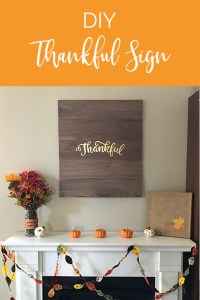 Lawrence Made Thankful Sign