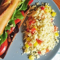 Zesty Lemon and Rosemary Couscous