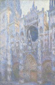 Monet, Rouen Cathedral, West Façade, 1894