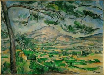 Paul Cézanne, Mont Sainte-Victoire, ca. 1885-87