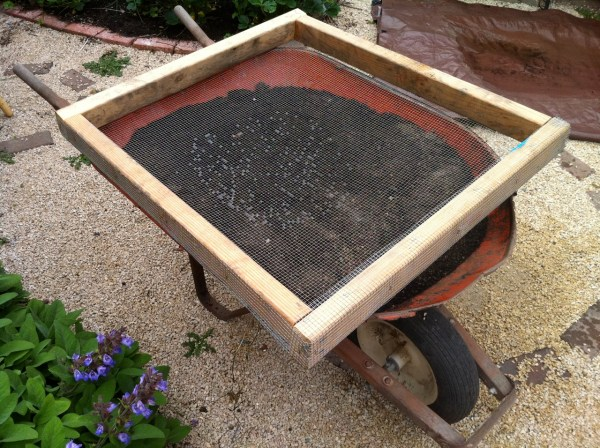 Homemade Soil Sifter