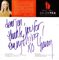 TRACY STERN #SALONTEA